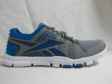 Reebok Size 9.5 M Your Flex Train 4.0 Blue Running Sneakers New Mens Shoes  NWOB