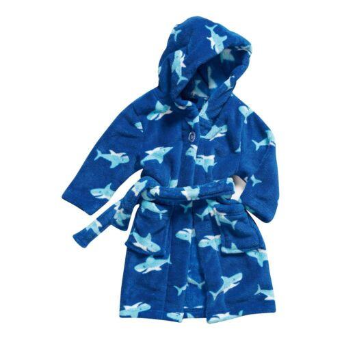 Playshoes balneazione Cappotto Vestaglia cappuccio Bambini ragazzi bambino in pile confortevole