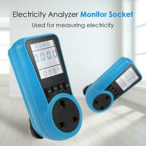 Electricity-Analyzer-Monitor-Socket-LCD-Digital-Voltage-Power-Watt-Meter-Socket
