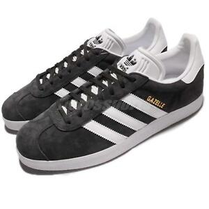 0a28dd68ba10 Image is loading adidas-Originals-Gazelle-Solid-Grey-White-Classic-Men-