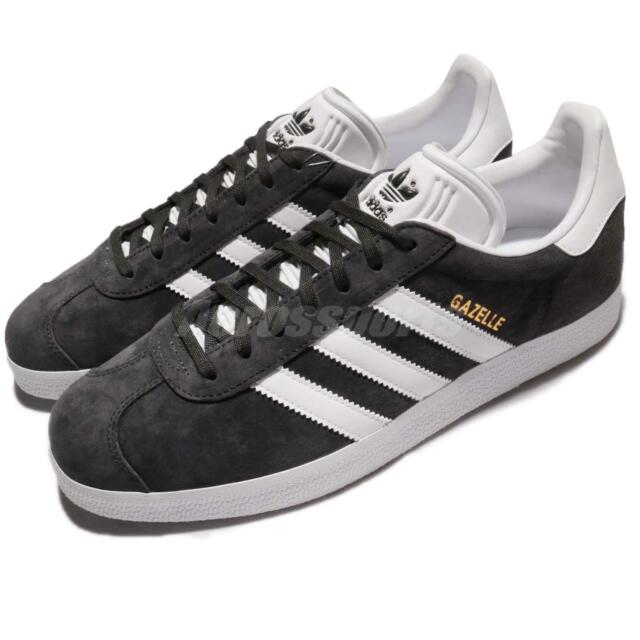 8d23e9b3fa13 adidas Originals Gazelle Solid Grey White Classic Men Women Shoes Sneaker  BB5480