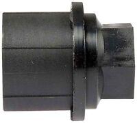 Three Black Lug Nut Covers 90-91 Chevrolet Gmc Truck C1500 C2500 C3500 K1500 (3)