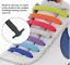Lacet-Chaussure-Elastique-Silicone-Baskets-Adulte-Enfants-facile-16-pieces miniatuur 5