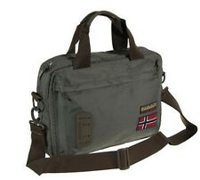 Borsa Tracolla Uomo Donna Napapijri Bag Men Woman Nordland Briefcase Quarry N5Z3