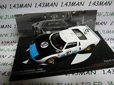 1/43 IXO Altaya Passion vitesse GT : FORD GT MKII 24 heures Daytona 1966