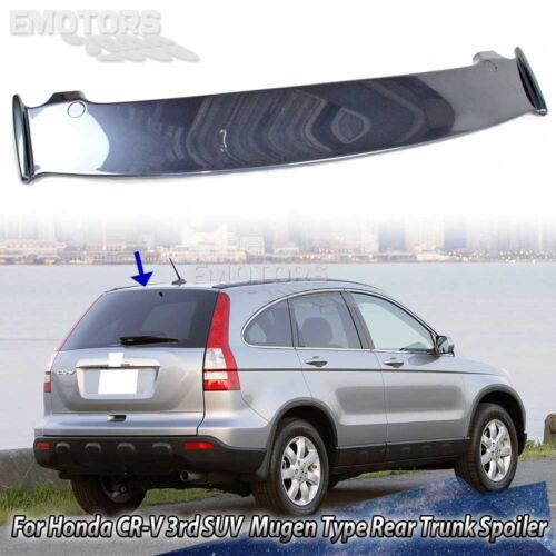 Painted#NH684P For Honda CR-V 3rd SUV Mugen Style Rear Trunk Boot Spoiler 07-11