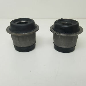 Pair Journal Boxes Wishbone Silentblock Top Fiat 124 For 4180915