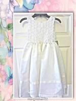 Jayne Copeland White Dress Young Girl 6 Communion/easter/flower Girl/special