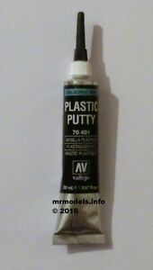 AV-Vallejo-Modelling-Plastic-Putty-Filler-Acrylic-Resin-20ml-Tube-New-70-401