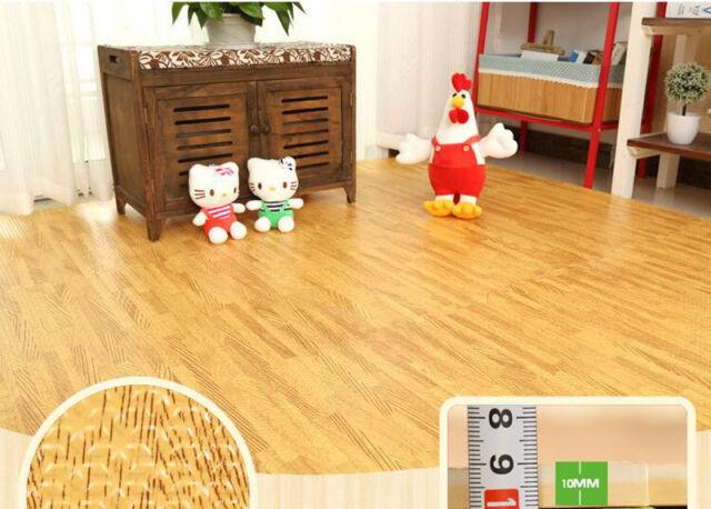 EVA Soft Foam Mats Interlocking Floor Mat Exercise Gym Kids Play Mat Garage