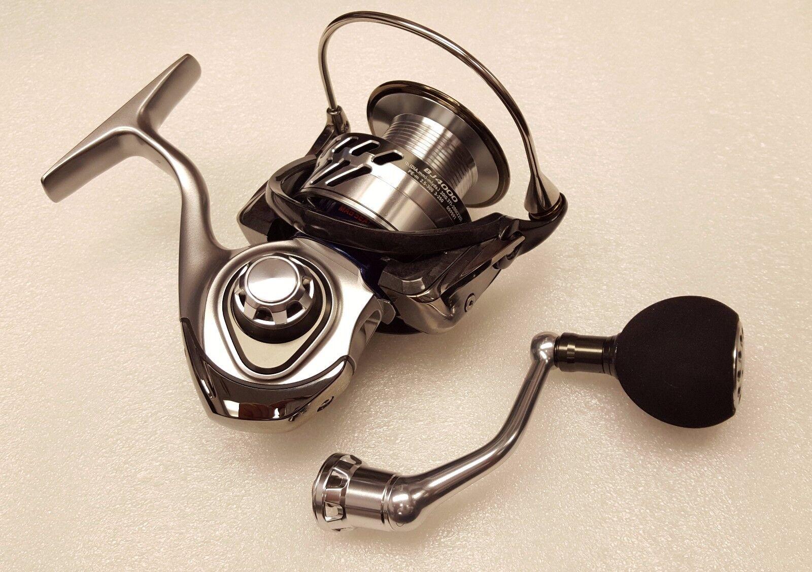 Daiwa Saltiga Bay Jigging 4.9 1 Saltwater Spinning Fishing Reel - SABAYJ4000-JDM