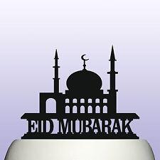 Acrylic Eid Mubarak Muslim Celebration Cake Topper Decoration