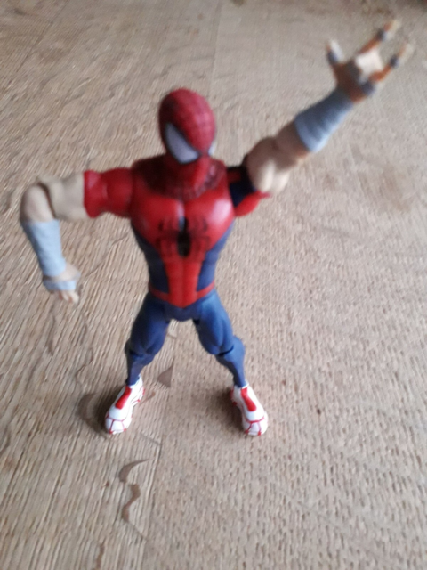 Spiderman, 20471, En sporty actionfigur alias Spiderman ,…