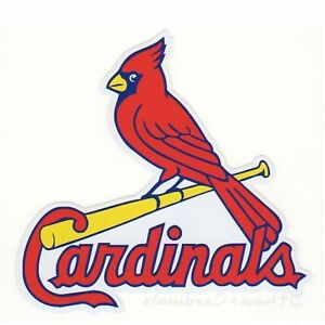 St Louis Cardinals Mlb Baseball Wall Decor Sticker Large Vinyl Decal
