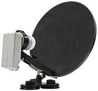 55-2240 15 Portable Satellite Dish With Lnb