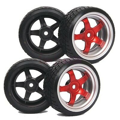 RC Racing Speed Hard Drift Tires 26mm For HSP HPI Sakura 1:10 Drifting Car 6013