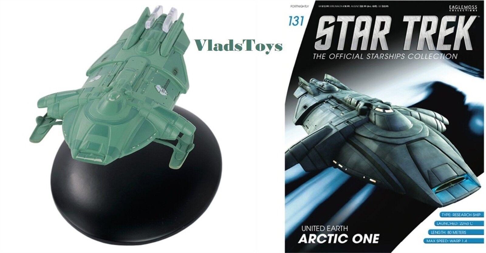 United Earth Arctic One Eaglemoss Star Trek Issue w Magazine