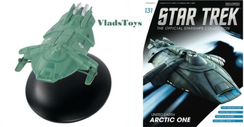 United Earth Arctic One Eaglemoss Star Trek Issue #131 w//Magazine