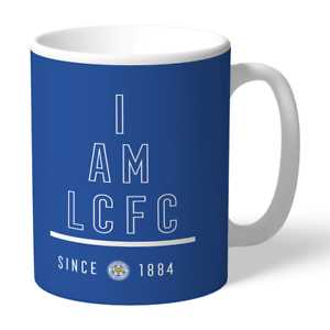 Leicester City F.c - Personalised Ceramic Mug (i Am)