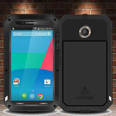 Google Nexus 6 Military Grade Aluminum Metal Case Shockproof Impact Truss