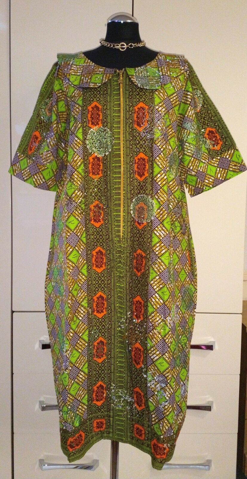 Stunning Traditional African Dress - size ( A35)