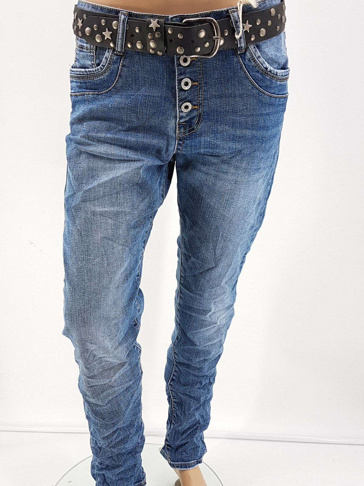 KAROSTAR Baggy Boyfriend basic Jeans lässiger  Style Gr.38 40- 40- 40- 48 | Bekannt für seine schöne Qualität  | Grüne, neue Technologie  | Modernes Design  | Hochwertige Produkte  | Feine Verarbeitung  6153dc