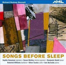 Richard Rodney Bennett: Songs Before Sleep (CD, Sep-2010, NMC (Classical))