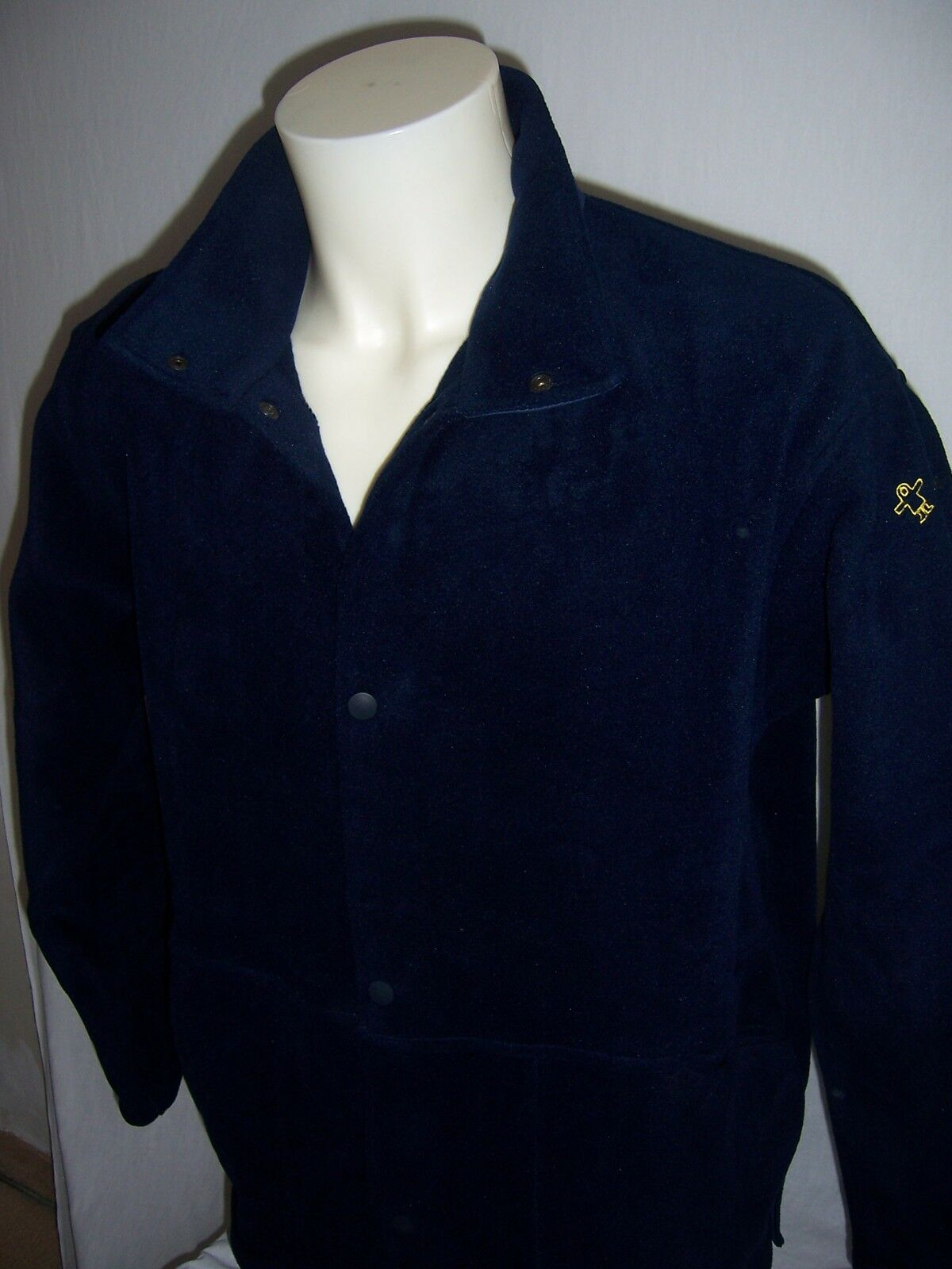 FOURRURE Polaire Guy L Cotten neuf Made in France taille L Guy ou XL coloris marine 5bdae8