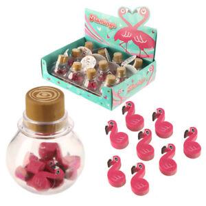 Fun-Tropical-Flamingo-Eraser-Set-Kids-Party-Favour-BIRTHDAY-PRESENT-GIFT-IDEA