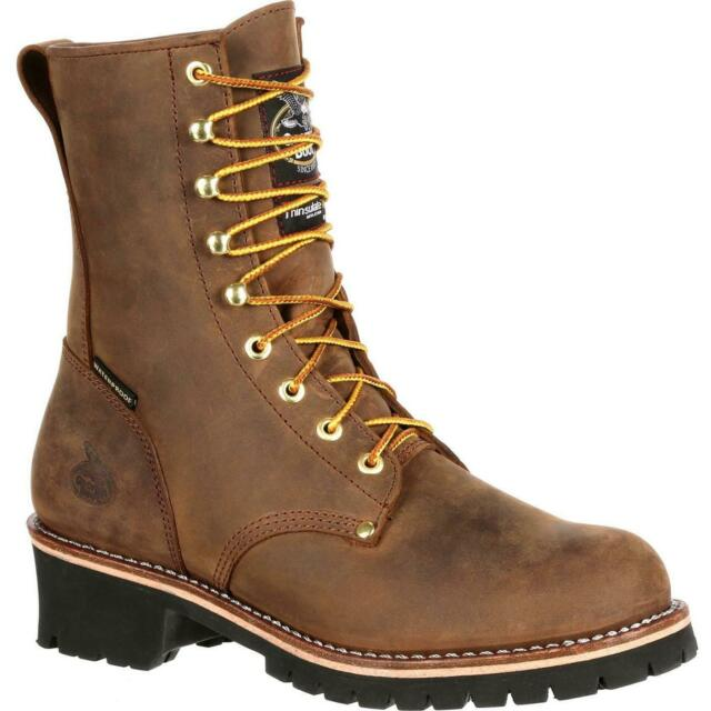 logger work boots on sale