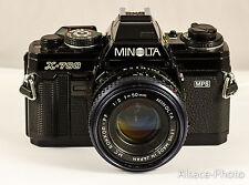 MINOLTA X-700 avec Minolta MD 2/50 mm 1981-1982   X700 MPS
