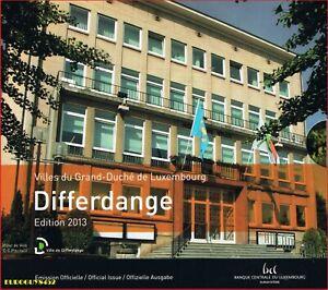 LUXEMBURG - BU SET 2013 - DIFFERDANGE- 9 MUNTEN