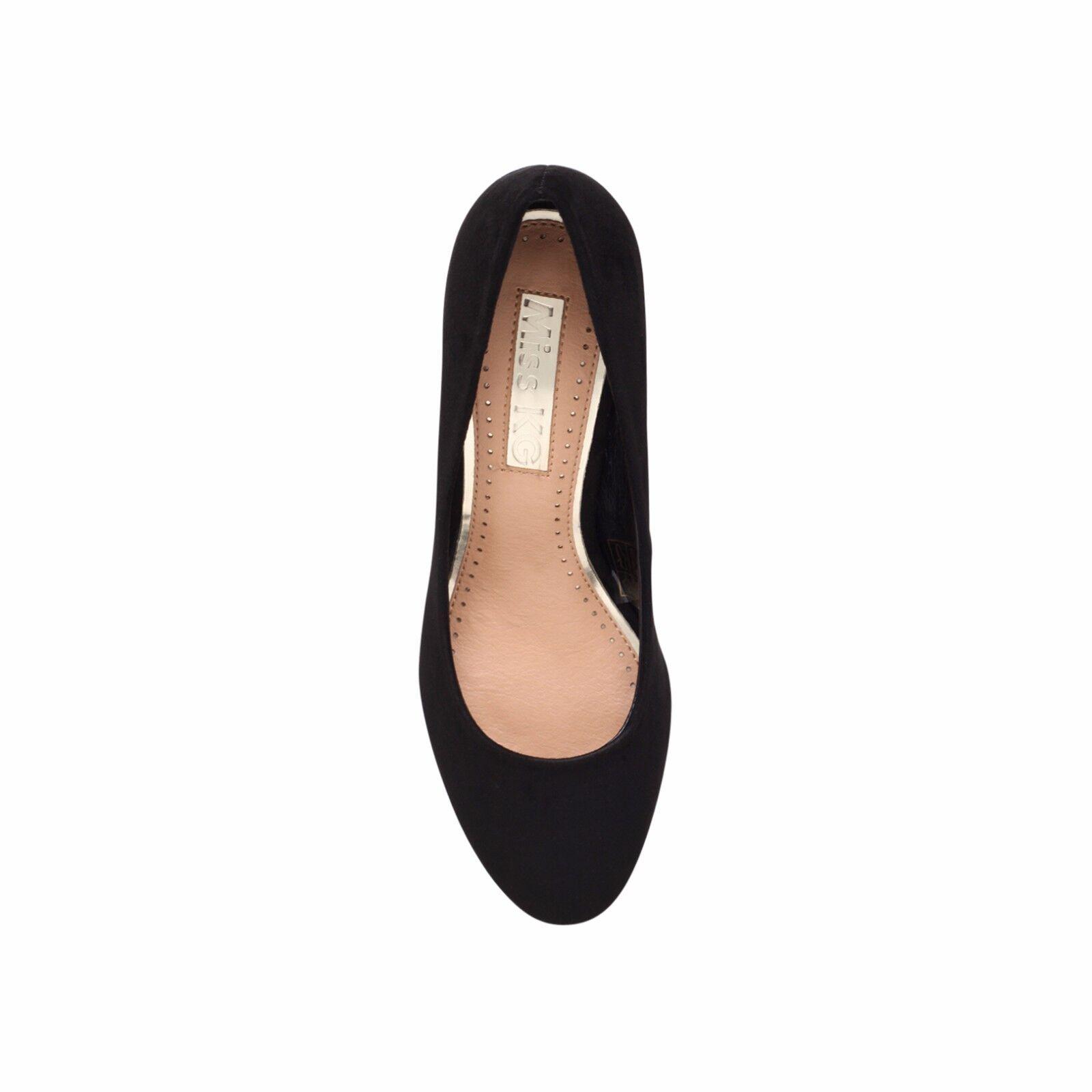 b9523f8d291 Miss Kg Kurt Geiger Connie Black Mid Heel Court Shoes UK 4 EU 37 Js39 54  SALEx for sale online