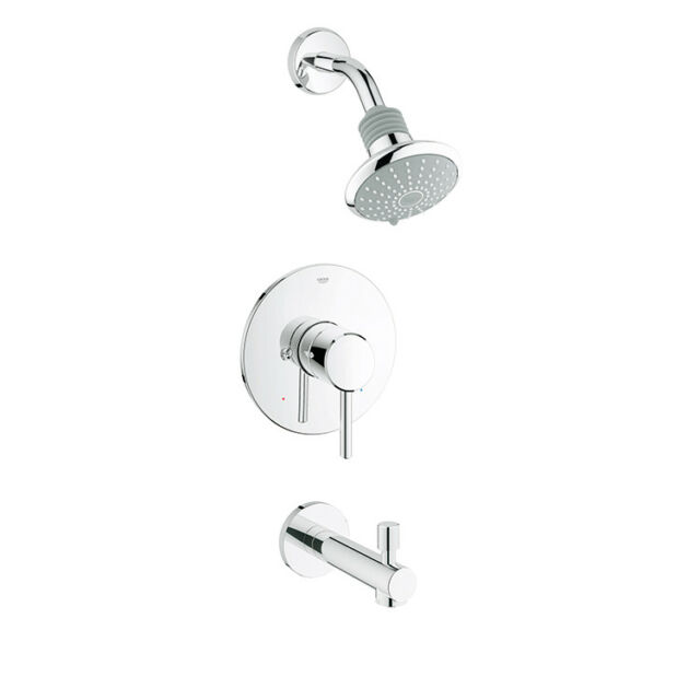 Grohe 35009001 Concetto Shower Head And Tub Combination