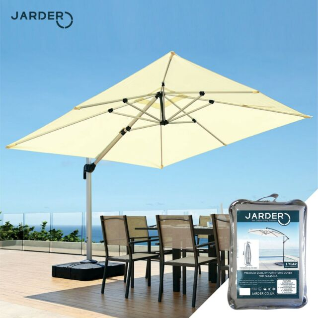 Taupe 3M REPLACEMENT PARASOL FABRIC COVERS FOR 8-ARM PARASOL