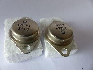mit Kühlkörper NOS 2x RCA 40410 Transistor für Audio und Meßtechnik