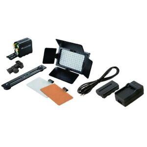Falcon-Eyes-Studio-LED-Lamp-Set-Dimmable-DV-96V-K2-with-Battery-for-DSLR-Camera