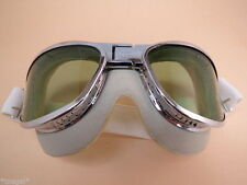 WW2 AN6530 Pilot Warbird Goggles (with Green Lenses)