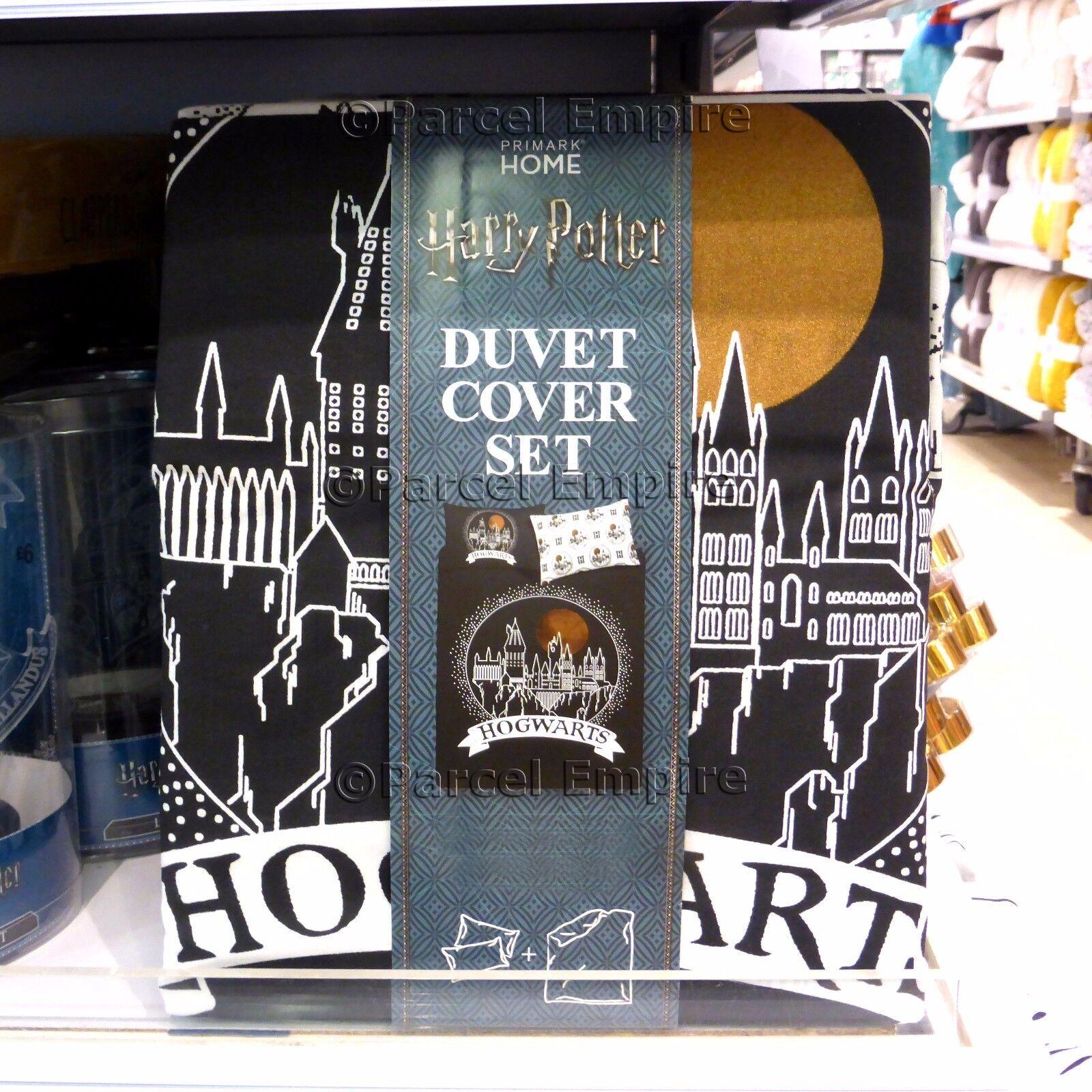 HARRY POTTER Official SINGLE DUVET COVER SET Hogwarts Xmas Gift  Rowling