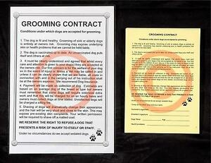 DOG-GROOMING-CONTRACT-amp-RELEASE-SET-stationery-by-GROOMERGRAPHIX