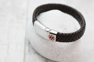 Medical-Bracelet-FREE-ENGRAVING-VARIOUS-SIZES-amp-COLOURS