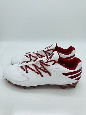 BRAND NEW adidas Men/'s SM Freak X Carbon Low Football Cleats CG4481 Red//White