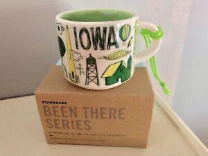 "Starbucks ""Been There Series"" Iowa Coffee Mug ORNAMENT (2oz.)"