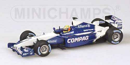Williams BMW R. R. R. Schumacher Launch car  2002 400020095 1 43 Minichamps fe4290