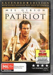 PATRIOT-DVD-R4-2006-Extended-Edition-Mel-Gibson-LIKE-NEW-FREE-POST