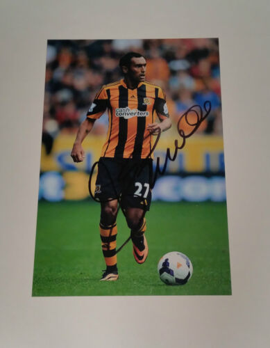 "Ahmed Elmohamady signed autograph 6""x4"" photo Hull City"