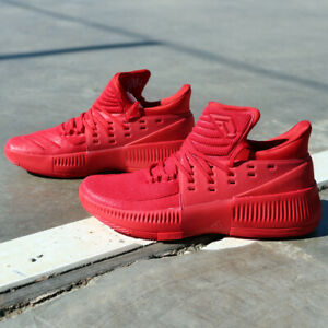 Details about adidas Dame 3 BB8337 Lillard Roots Red Basketball Shoes Portlands Blazers NEW DS