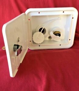 RV-marine-GRAVITY-amp-CITY-WATER-FILL-dish-NEW-door-lock