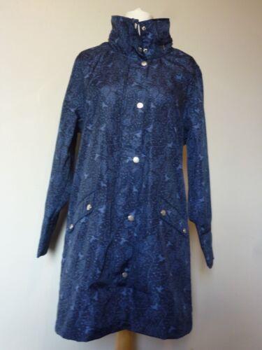 TIGI Womens Aviary Jersey Lined Coat Mac Jacket Size 14-20 Uk BNWT RRP £50 Navy