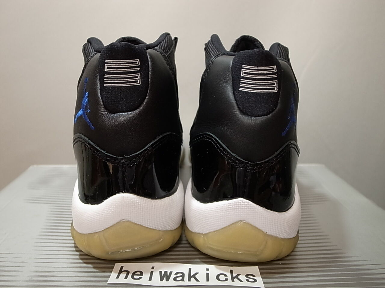 2000 11 nike air jordan 11 2000 xi retro space jam schwarz uni royal 136046-041 sz 7.5 802b6f